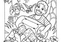 omalovánky pro děti / http://kleuteridee.nl/kleurplaten-2/ben-horsthuis/