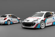 APID Racing Service - L. Lapdavský (Peugeot 207 S2000) / Design and wrap.