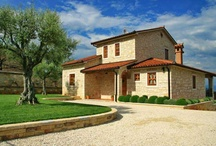 New build Stone villa with a magnificent panoramic view in Croatia