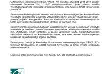 Tiedotteet / Media- ym. tiedotteita.