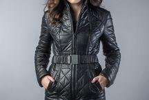 Leather clothes for women / www.vesa.ro www.vesa-furcoats.com