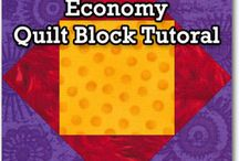 Economy quilt block