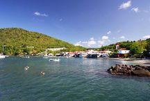 Deshaies, Guadeloupe / La commune de Deshaies en photo, petit village de pêcheur en Basse-Terre, Guadeloupe