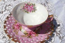 Porselen Çay ve kahve keyfi