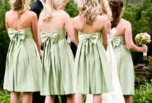 Dresses / #Bridal #Gowns #BridalGowns and some bridesmaids (although they may also be pinned on the #Bridesmaids board