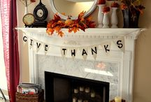 Fall decor / by Cortney Schoene