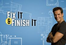 Fix It and Finish It with Antonio Sabato, Jr. / Projects Antonio Sabato Jr. fixes on his show! / by Fix It And Finish It