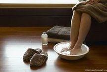 Удаление  боли из стоп ноги