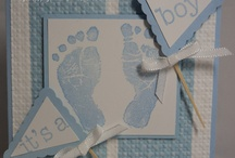 baby boy cards / by Lucy Padovan