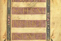 Manuskrypty I tysiąclecia