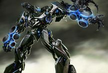 Transformers / make a robot