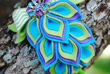 vintage style hair accessories / by Tania Butts