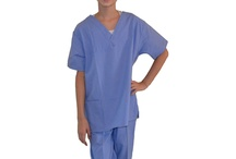 Kids Scrub Sets / Your little one will look like a real Doctor in these adorable Kids Scrub Sets!  / by My Little Doc