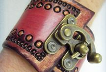 Leather Jewelry / by Sharon Gowryluk