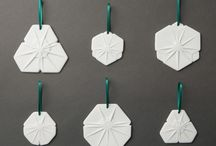 Contemporary Christmas Ornaments