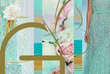 Palette Wedding Color by @ninaweddingplanner.it / Mood Board by @ninaweddingplanner
