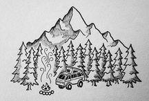 tatto de bosque