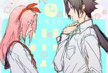SasuSaku / Sakura x Sasuke