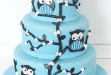 Owl Cake tutorials
