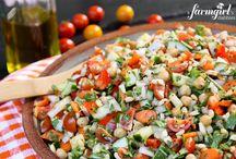 !!Salad Recipe Mosaics / Salad Recipes