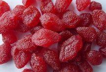 kandované jahody
