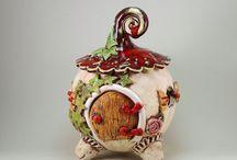 Windlichter aus Keramik
