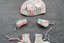 Ensemble bébé, Set baby cloth, Conjunto / For babies - Pour bébés- Para bebés