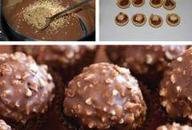 pasticcini, cioccolatini e simili