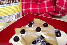 Crepes / Various crepe recipes. Savoury or Sweet