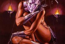 Fantasykunst Woman