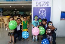 "Summer Vacation Fun Fair 2016 / Navjivan Hyundai Organized the ""Summer Vacation Fun Fair"" for the kids of our valued customer, on the occasion of summer vacation.. the day was filled with extreme joy and fun.."