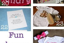 Gift Ideas / Different ideas for different types of gifts (i.e. baby showers, weddings, holidays, birthdays. etc...) / by Elizabeth Arterburn