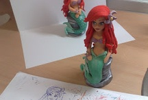 Little mermaid Ariel (Mala sirena) / by Figurice Za Torte