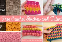 Crocheting: Tutorials, helps, stitch instructions and things to help me learn / by MK Coulibaly