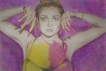 My Art Work / My drawings - by Clemarya