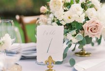 DESIGN :: Table Number Ideas