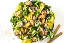 eats | healthy salad recipes / Salad recipes that are vibrant, seasonal, wholesome and healthy.