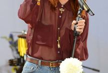 style icon: florence welch