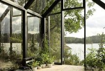 glass houses, orangeries