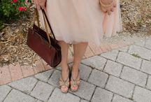 Wedding or Christening outfits for breastfeeding mums / Blushingly sweet, vintage style inspiration for breastfeeding & pregnant mums featuring subtle pink shades that will complement your natural glow.