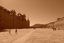 REALES SITIOS DE SAN LORENZO DE EL ESCORIAL / Imágenes del Monasterio de San Lorenzo de El Escorial, de la Casita del Príncipe y de la Casita de arriba