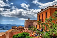Monemvasia / Monemvasiá, founded by the Byzantines in the sixth century, is a breathtaking medieval tower town located on the south-eastern coast of the Peloponnese. Take the opportunity to explore this mystical stone-built settlement, nestled at the edge of a big rock by the sea, and immerse yourself in a unique medieval atmosphere! / by Visit Greece