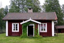Stugor/Cottages / En liten stuga / by Mahill