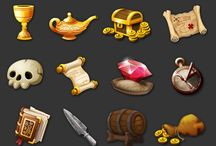 game items, objects