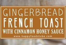 French Toast with Cinnamon Honey Sauce Recipe.