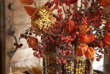 Fall Decorating/Food Ideas