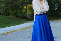 Darling Full Skirts & Dresses / Gorgeous inspiration for seamstress workshops with a vintage twist