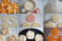 Mãos na massa / Receitas visuais da maneira de se preparar pães, bolos, refeições, macarrões, doces e muito mais