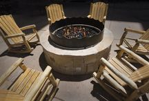 Outdoor Fireplace & Fire Pit Ideas
