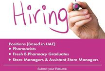 #india #Recruitment / Pharmacists Recruitment in India. Life Pharmacy Group, the leading retail Pharmacy chain based in UAE is looking out for the following Positions to facilitate its expansion Plans.  Attractive Salary Packages & Benifirs
